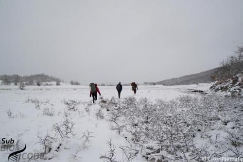 Jame u okolici Nevesinja bile su teško dostupne zbog zimskih uvjeta.