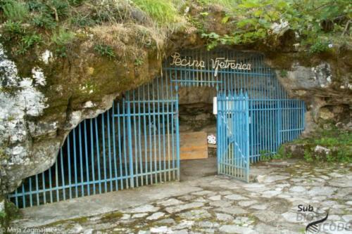 Ulaz u pećinu Vjetrenicu.